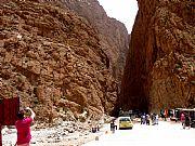 Carretera de Tinerhir a Imechil, Gargantas del Todra, Marruecos