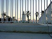 Foto de Malaga, Puerto de Malaga, España - Entre rejas