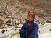 Carretera de Tinerhir a Imelchil, Gargantas del Todra, Marruecos