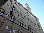 Piazza dei Priori, Volterra, Italia