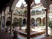 Plaza del Santuario de la Victoria, Malaga, España