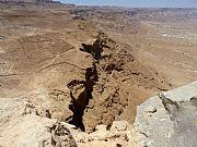 Muralla exterior, Masada, Israel
