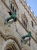 Palazzo dei Priori, Perugia, Italia