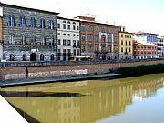 Lungarno Gambacorti, Pisa, Italia