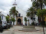 Plaza del Santo Cristo, Marbella, España
