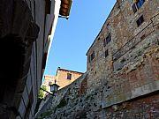 Via dei Grassi, Montepulciano, Italia