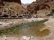 Carretera de Tinerhir a Imichil, Gargantas del Todra, Marruecos