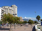 Foto de Fuengirola, Paseo Maritimo Rey de España, España - Paseo y playa