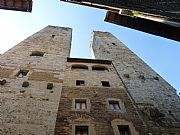Torres de los Ardinghelli, San Gimignano, Italia