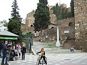 Calle de Alcazabilla, Malaga, España