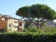 Piazza di San Domenico, Siena, Italia