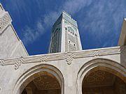 Explanada de la Mezquita, Casablanca, Marruecos