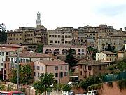 Piazza di San Francesco, Siena, Italia