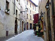 Via delle Prigioni, Volterra, Italia