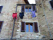 Via Piandornella, San Gimignano, Italia
