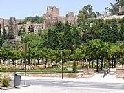 Jardines de Puerta Oscura, Malaga, España
