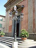 Piazza della Liberta, Castel Gandolfo, Italia
