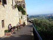 Via Piandonella, San Gimignano, Italia
