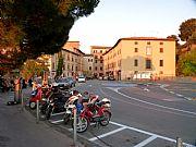 Piazza Martiri della Liberta, Volterra, Italia