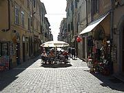 Via Roma, Castel Gandolfo, Italia