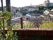 Via Garibaldi, Siena, Italia