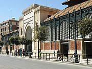 Calle Atarazanas , Malaga, España