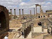 Ruinas de las Termas, Bosra, Siria