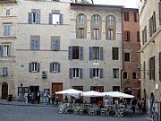 Piazza di San Giovanni, Siena, Italia