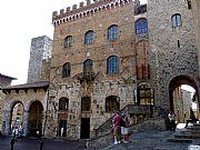 Piazza Duomo , San Gimignano, Italia