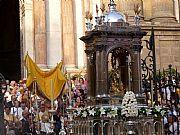 Plaza del Obispo, Malaga, España