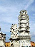 Piazza dei Miracoli, Pisa, Italia