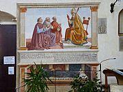 Iglesia de San Agustin, San Gimignano, Italia