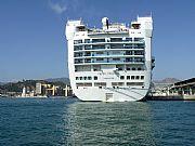 Foto de Malaga, Puerto de Malaga, España - A popa