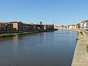 Ponte della Fortaleza, Pisa, Italia