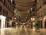 Calle Marques de Larios, Malaga, España