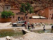 Carretera Tinerhir a Imilchil , Gargantas del Todra, Marruecos