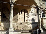 Porticos de Braccio, Perugia, Italia