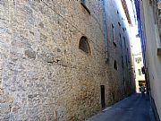 Via della Porta Marcoli, Volterra, Italia