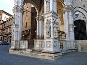 Piazza Il Campo, Siena, Italia