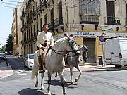 Calle Tomas Heredia, Malaga, España