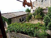 Via della Costarella, San Gimignano, Italia