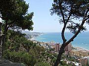 Castillo de Gibralfaro, Malaga, España