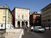 Piazza Garibaldi, Pisa, Italia