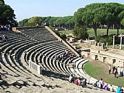 Teatro, Ostia Antica, Italia