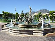 Parque de la Bateria, Torremolinos, España