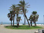 Playa de San Andres, Malaga, España