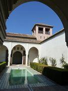 Alcazaba , Malaga, España