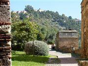 Foto de Malaga, Alcazaba, España  - Con Gibralfaro al fondo