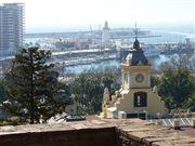 Foto de Malaga, Alcazaba , España  - Torre del Ayuntamiento