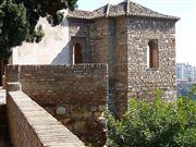 Foto de Malaga, Alcazaba , España  - Torre de Maldonado